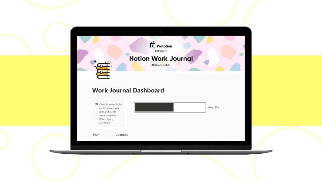 Work Journal Dashboard