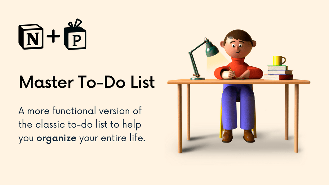Master To-Do List
